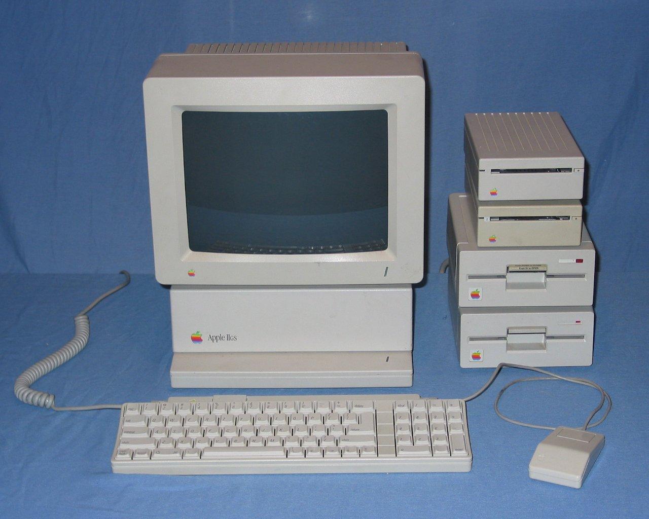 Apple Iigs Computers Popcorn Cx